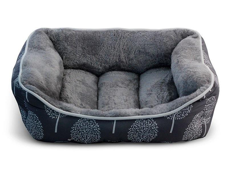 Лежанка для собак Triol 53x62x24см серый