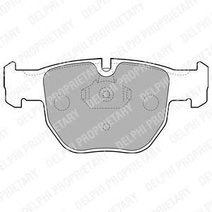 Тормозные колодки дисковые Delphi LP1863 фото