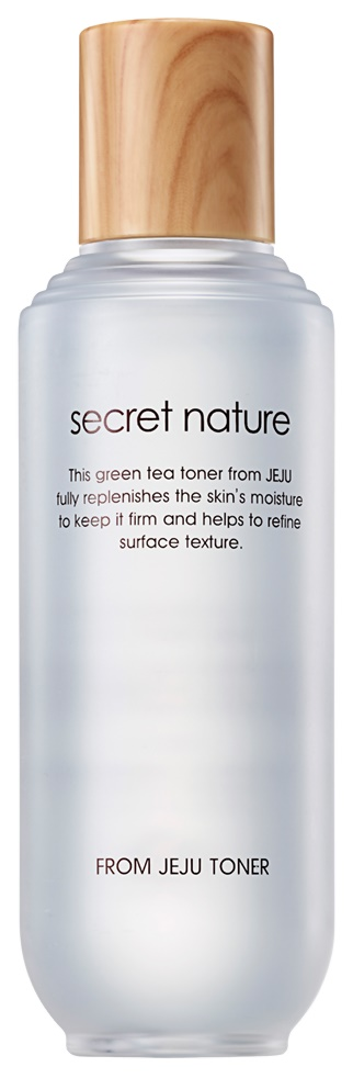 Купить Тонер для лица Secret Nature From Jeju Toner 130 мл, Увлажняющий тоник с зеленым чаем
