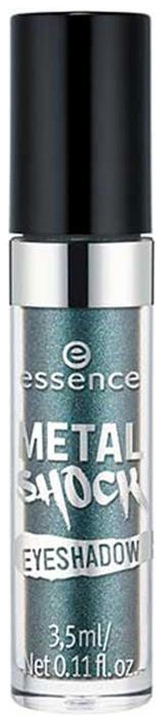 Тени для век Essence Metal Shock Eyeshadow Тон 04 Зеленый с блеском фото