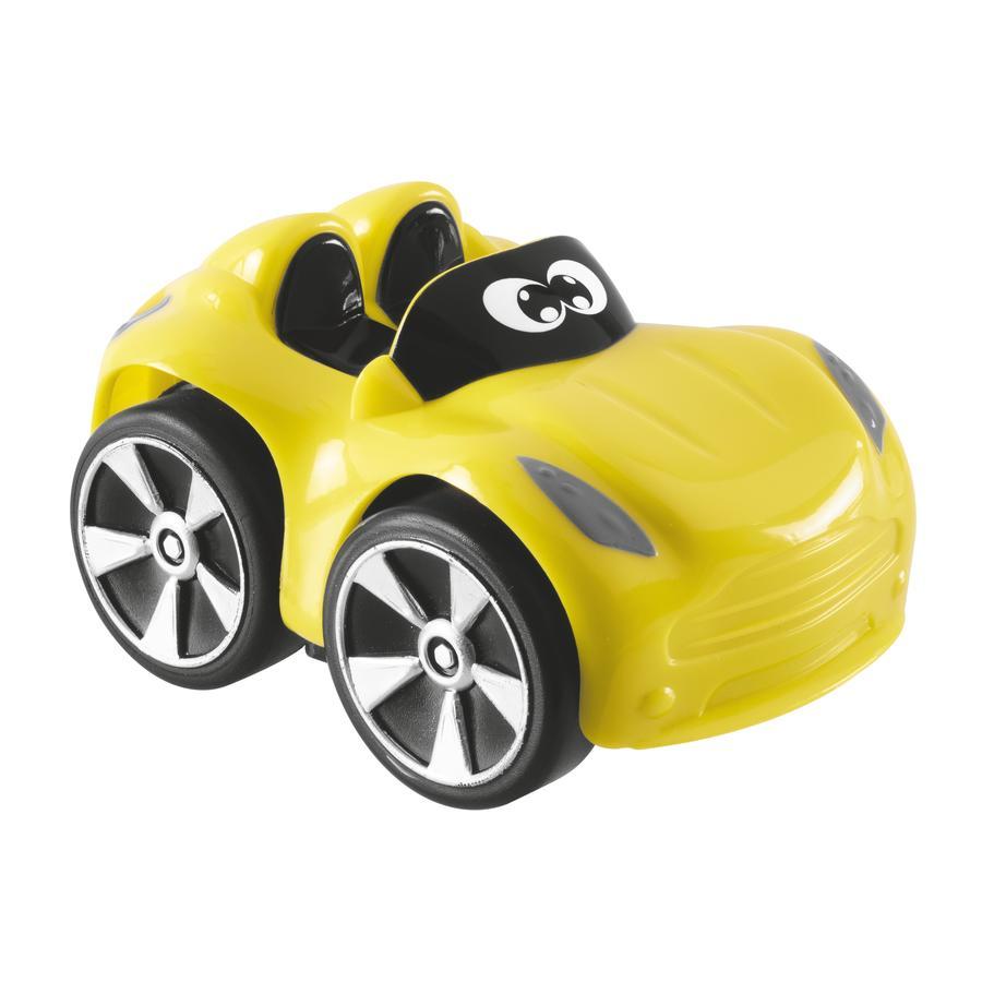 Купить Машинка пластиковая Chicco Turbo Touch Yuri желтая, Игрушечные машинки