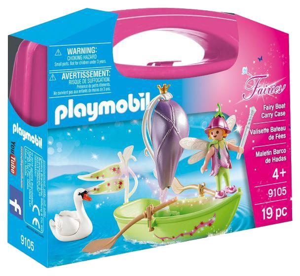 Игровой набор Playmobil Возьми с собой лодка феи 9105pm
