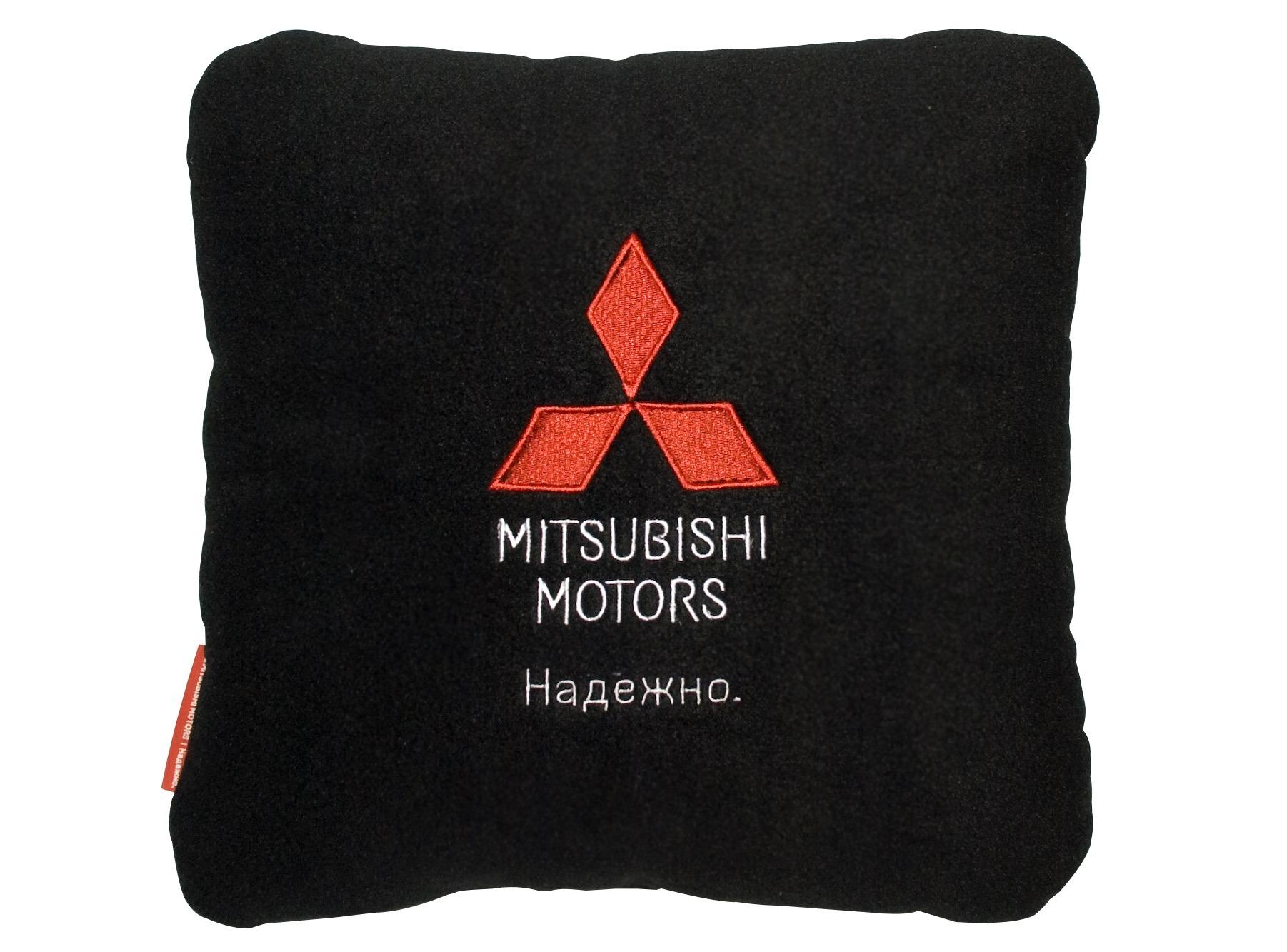 Автомобильная подушка Mitsubishi RU000023 Black