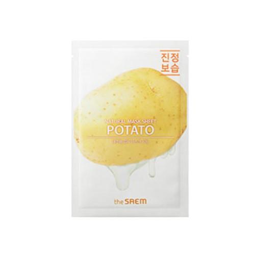 Купить Маска тканевая N с экстрактом картофеля Natural Potato Mask Sheet 21мл, THE SAEM