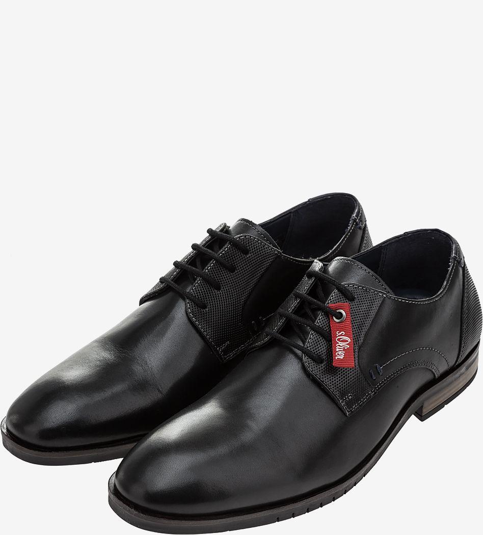 Туфли мужские S.Oliver черные