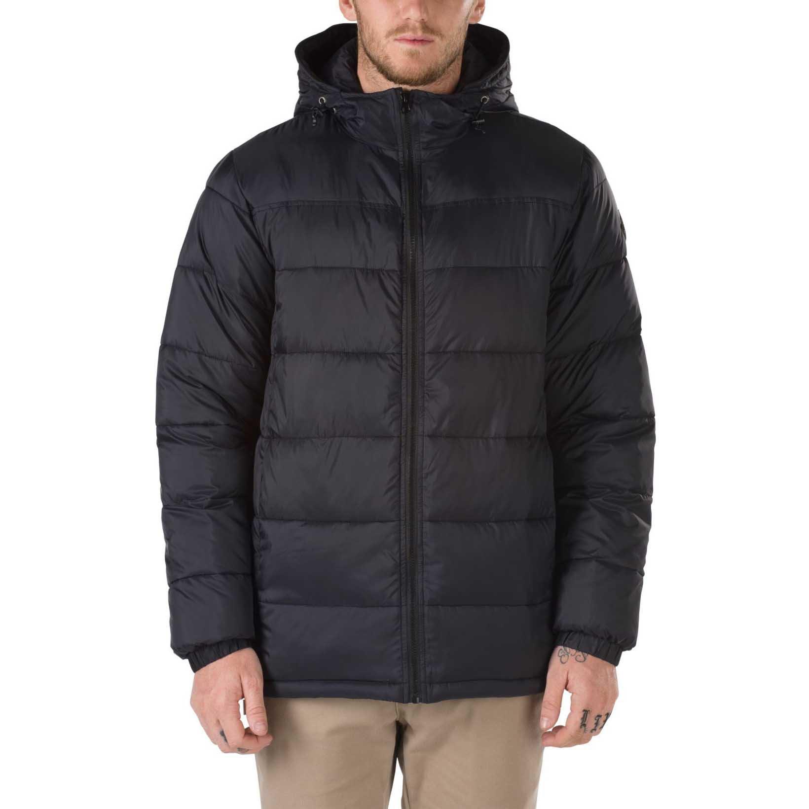 Мужская куртка Vans Woodcrest Padded Hooded Full Zip VA2X5UBLK