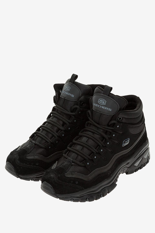 Кроссовки женские Skechers черные фото