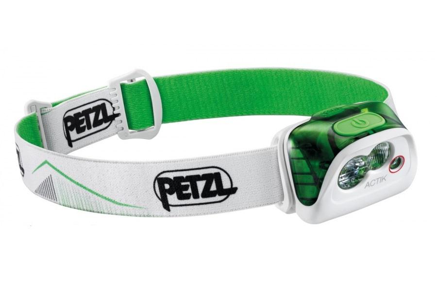 Фонарь с батарейками Petzl Actik зеленый фото
