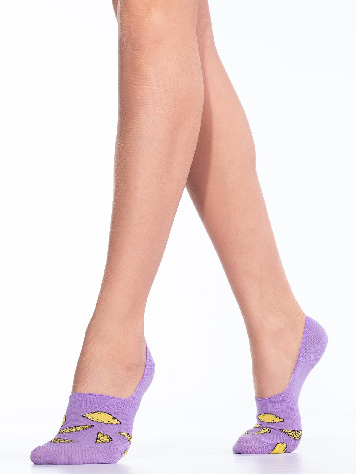 Подследники женские Giulia фиолетовые 39-40