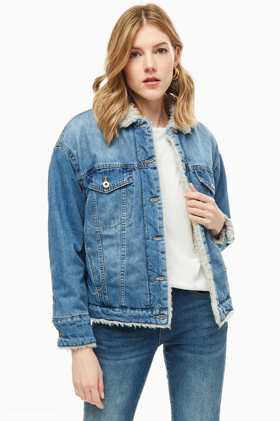 Куртка женская KRAPIVA 70090 синяя XL