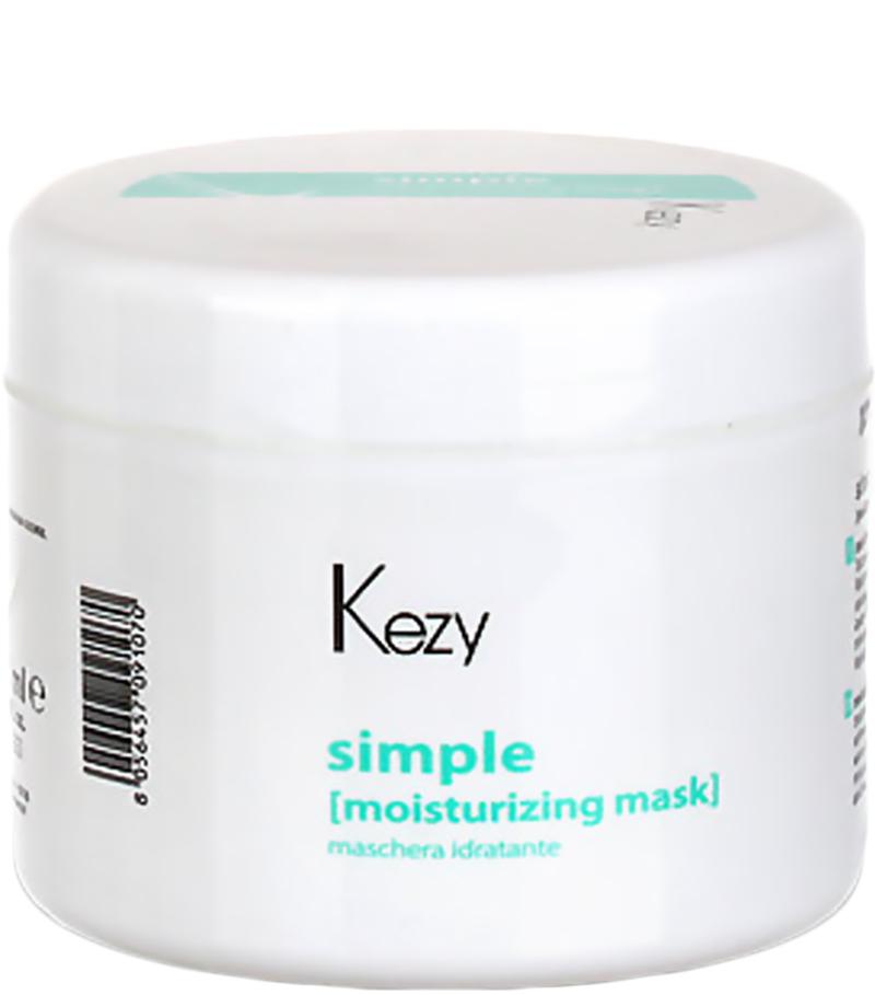 Маска для волос Kezy Moisturizing mask увлажняющая 500 мл, Kezy Professional  - Купить
