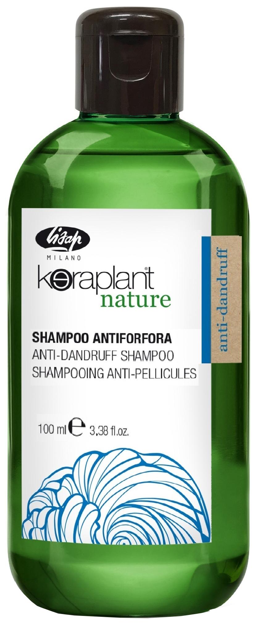 Шампунь Lisap Milano Keraplant Nature Anti-Dandruff Shampoo 100 мл