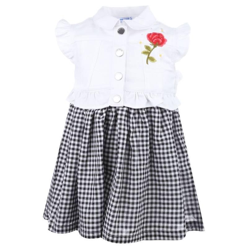 Купить Платье MAYORAL, цв. черный, 98 р-р, Детские платья и сарафаны