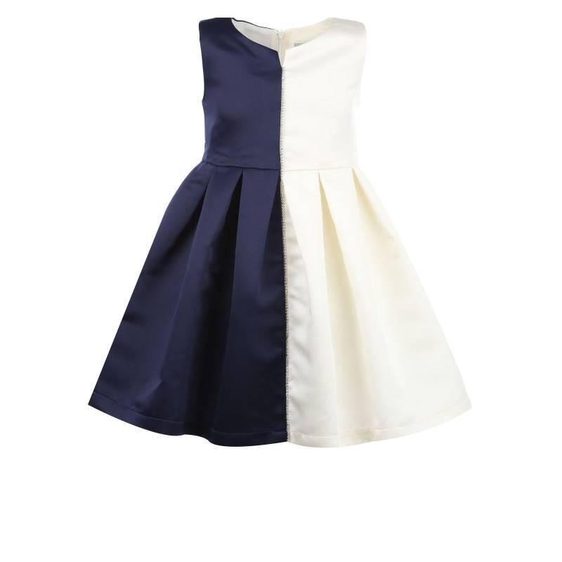 Купить 1535, Платье Птичье молоко UNONA D'ART, цв. белый, 128 р-р, Платья для девочек