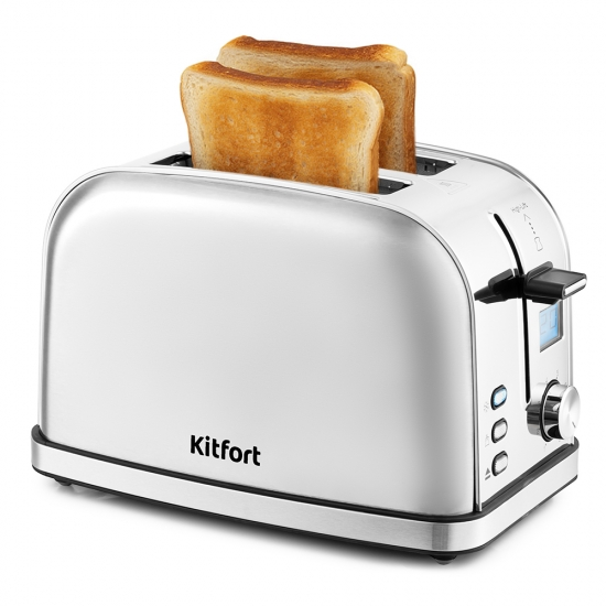 Тостер Kitfort KT 2036 6 Silver
