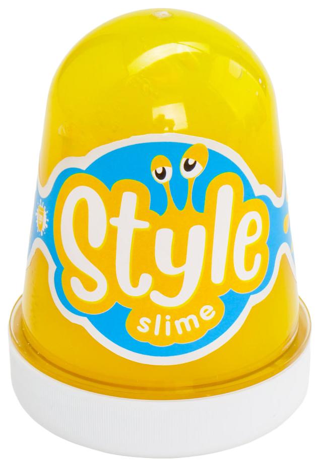 "STYLE SLIME ""Желтый с ароматом банана"", 130мл. Lori"