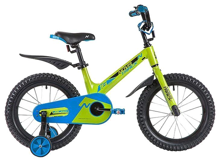 Купить Велосипед Novatrack Blast (цвет: зелёный, 16 ),
