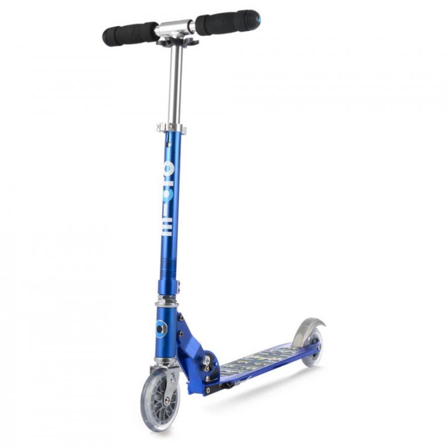 Купить Двухколесный самокат Micro Scooter Sprite Special Edition Blue Aztec, Самокаты детские двухколесные