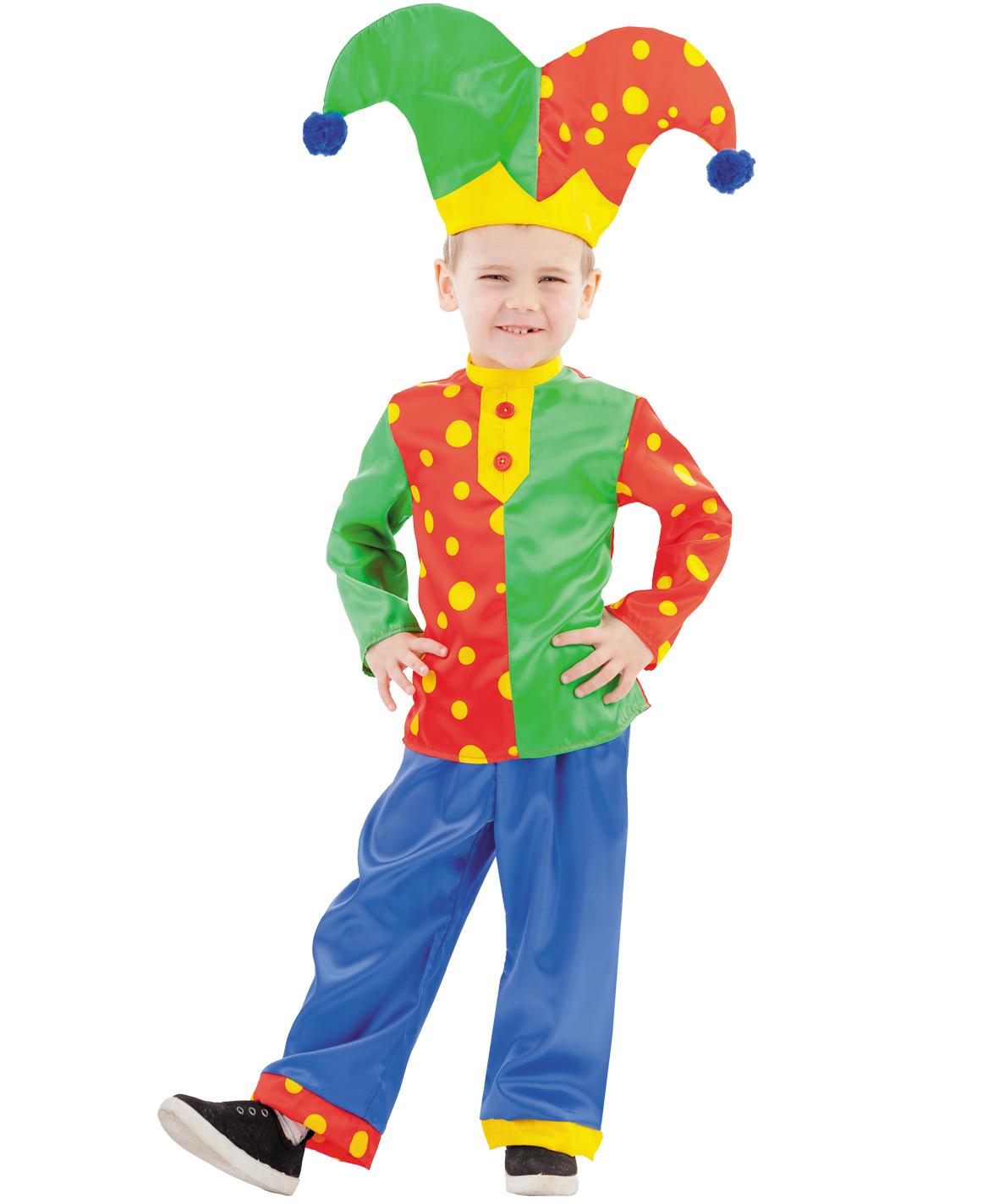Карнавальный костюм Батик Клоун, цв. разноцветный р.134 1051 к-19