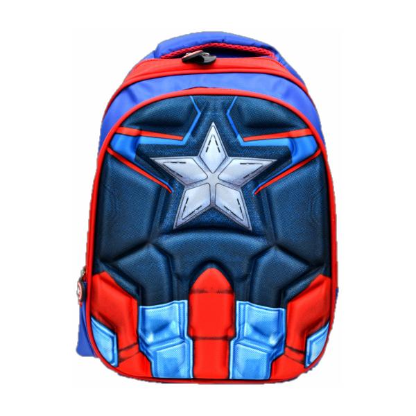 Купить Рюкзак 3D Kepkastroy Капитан Америка, Школьные рюкзаки и ранцы