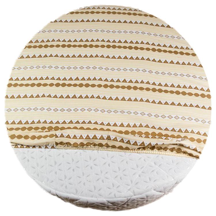 Простыня AmaroBaby Exclusive Creative Collection Mosaic круглая на резинке, 75х75х12 см