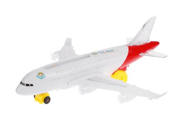 Самолет Наша Игрушка со световыми и звуковыми