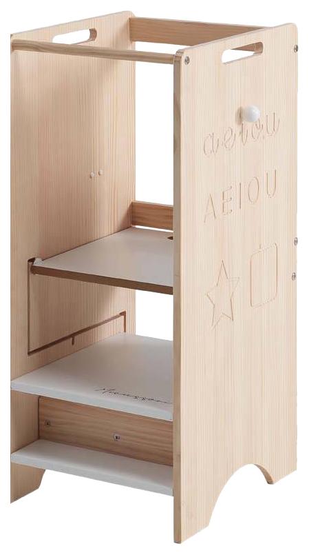 Купить Стул-подставка Micuna Trotta (Микуна Тротта) MONT-1872 waterwood/white, Стульчики для кормления