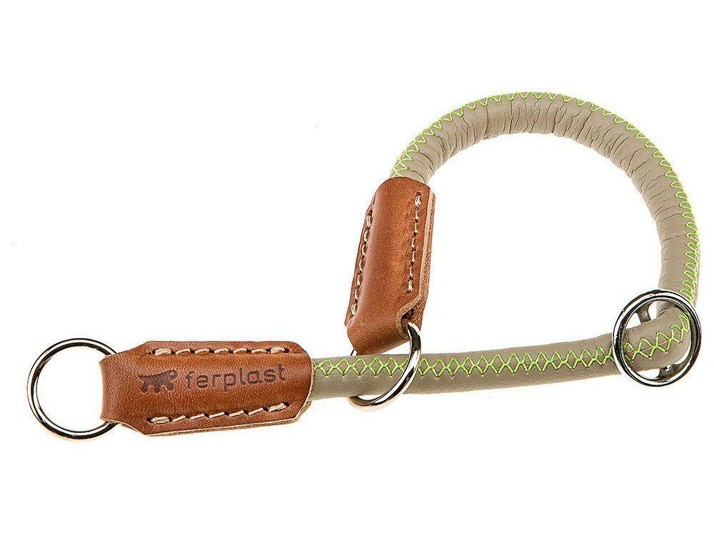 Ошейник-удавка Ferplast Derby CS для собак (Длина: 60 см Ширина:12 мм, Сизо-Серый)