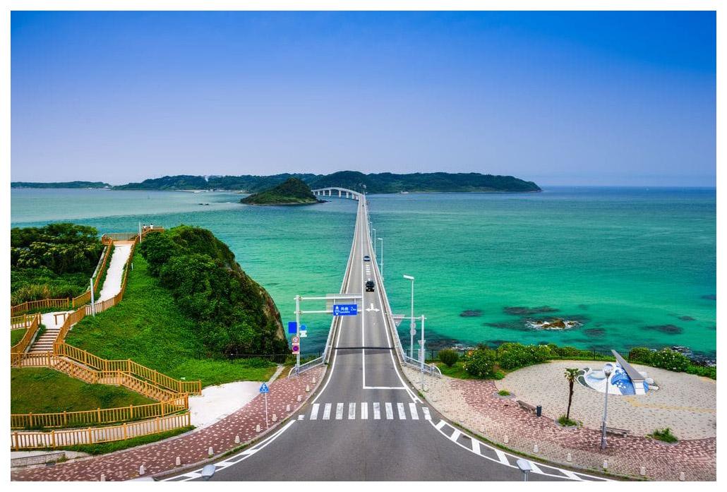 Купить Пазл Konigspuzzle Япония. Мост Цуношима ГИК1000-8230 1000 элементов, Пазлы