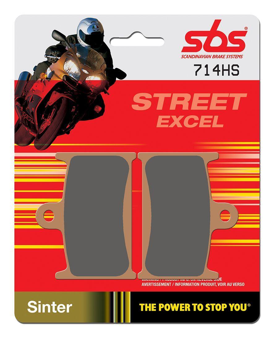 Тормозные колодки передние SBS 714HS для мотоциклов