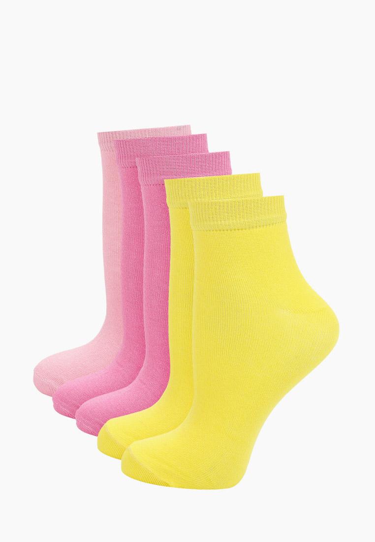 Набор носков женский Тульский трикотаж С392-5 разноцветный