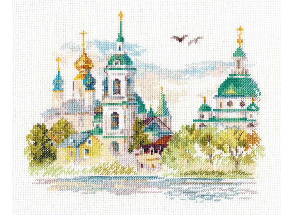 Набор для вышивания Алиса Ростов Великий. Спасо-Яковлевский монастырь арт.136178 фото