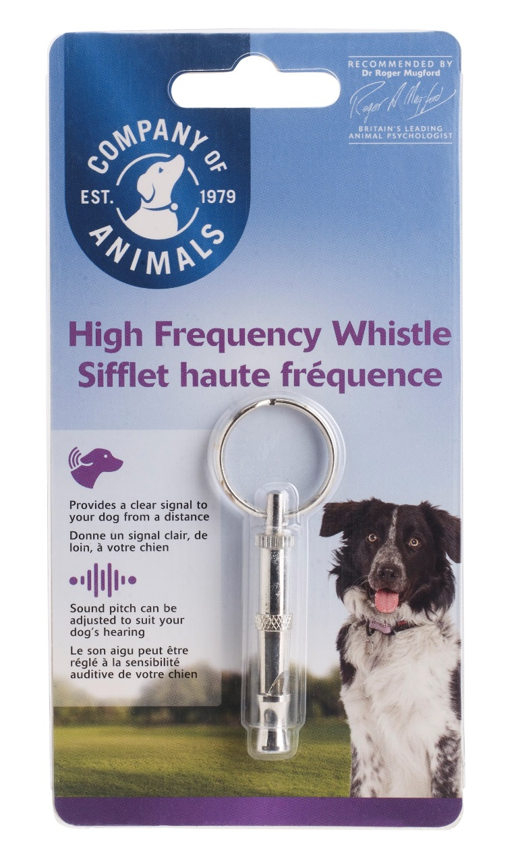 Свисток для собак Company of Animals, высокочастотный,