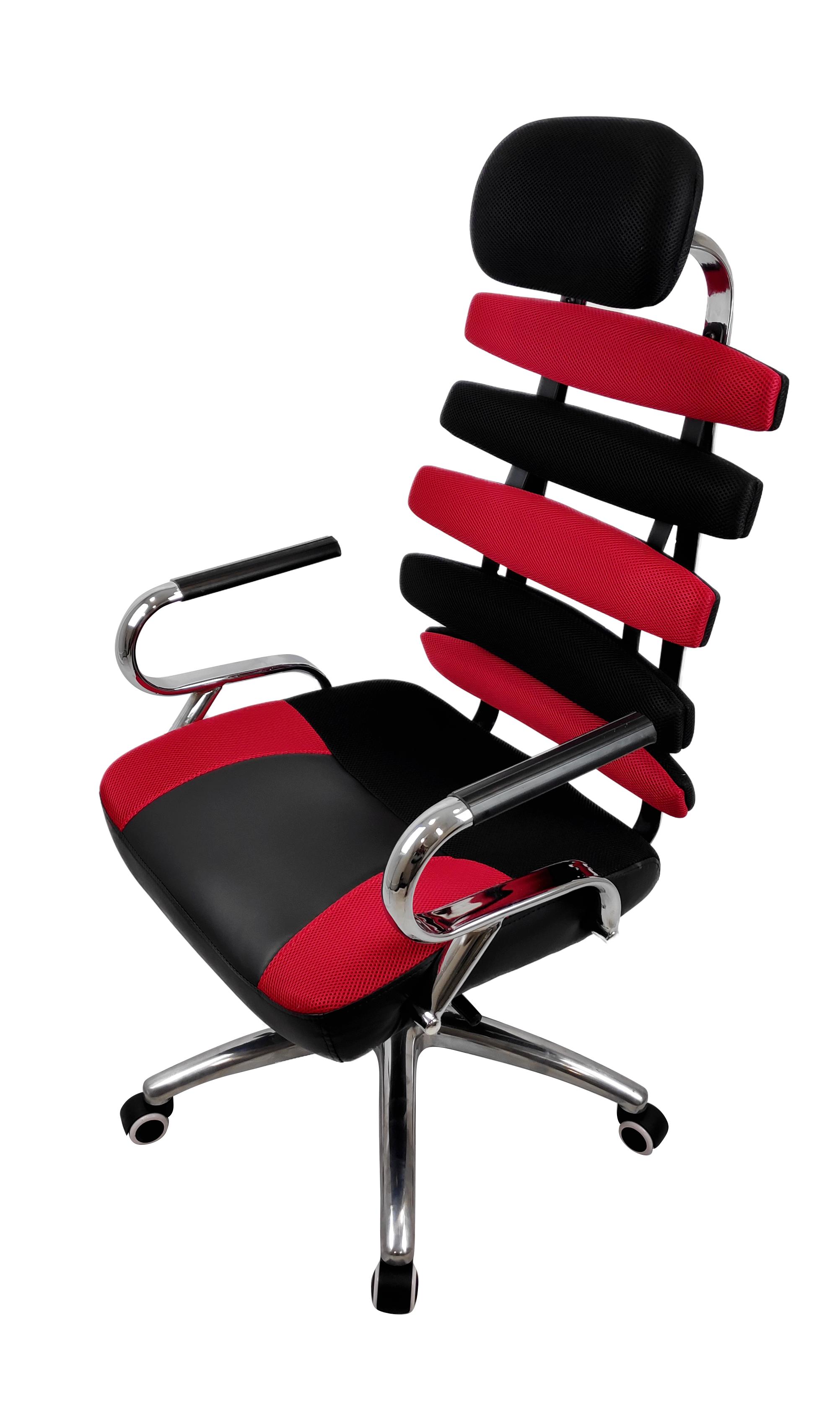 Офисное кресло Raybe KB-415 1051777, черный/красный
