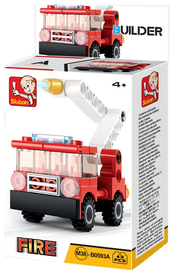 Конструктор пластиковый Sluban Пожарная Машина M38-B0593A