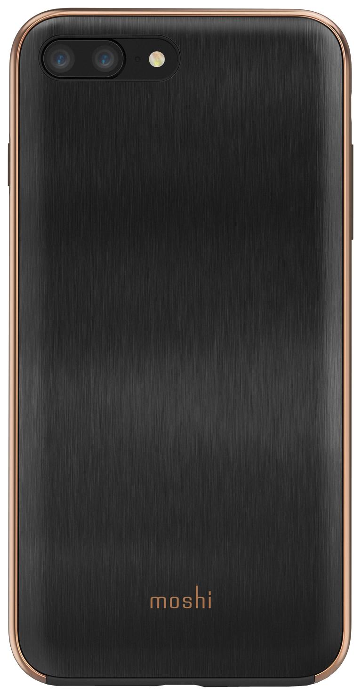 Чехол Apple Moshi iGlaze Ultra Slim Snap On iPhone 7/8 Plus Black 99MO090009