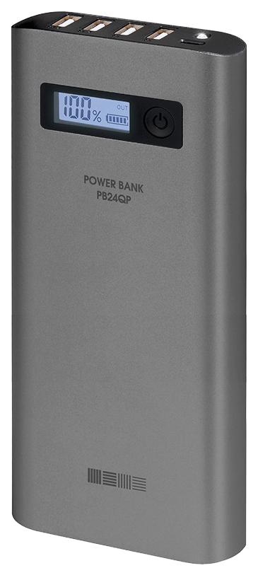 Внешний аккумулятор InterStep PB24QP 24000 мА/ч
