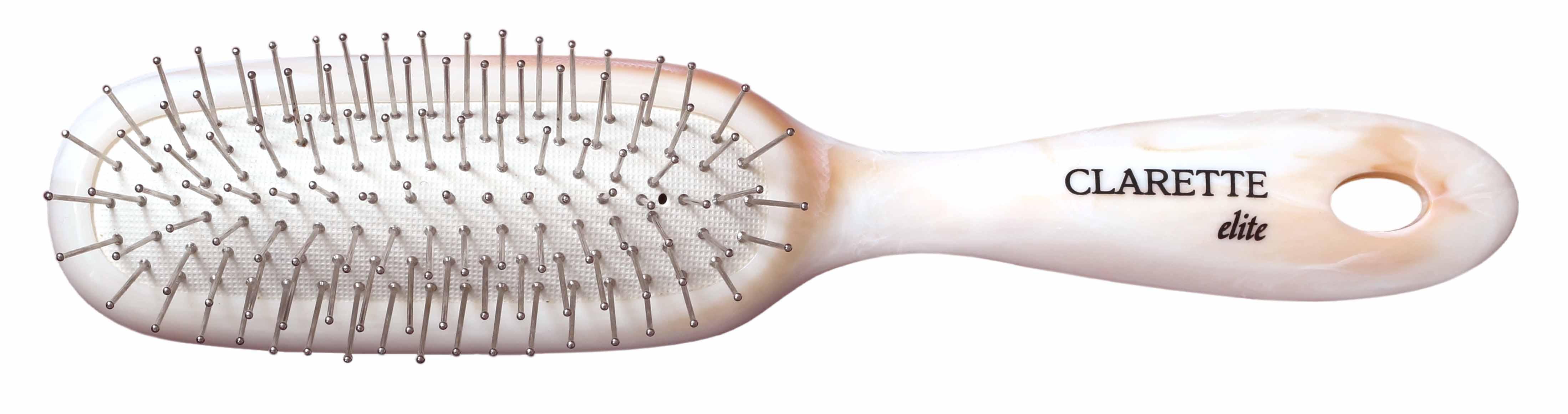 Купить Щетка для волос CLARETTE на подушке с металлическими зубьями универсальная
