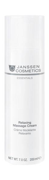 Крем для лица Janssen Dry skin Relaxing Massage Cream 200 мл
