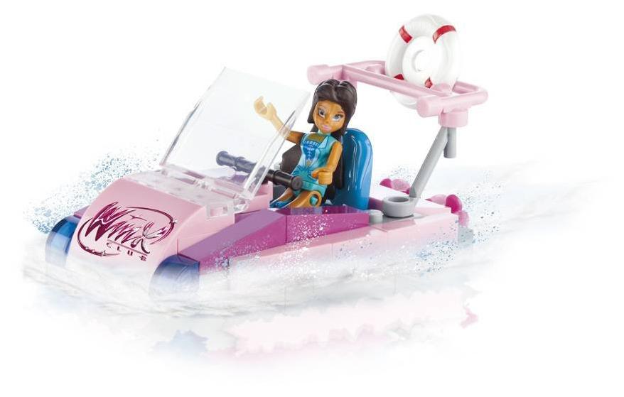 Купить Конструктор пластиковый COBI Моторная лодка, Конструкторы пластмассовые