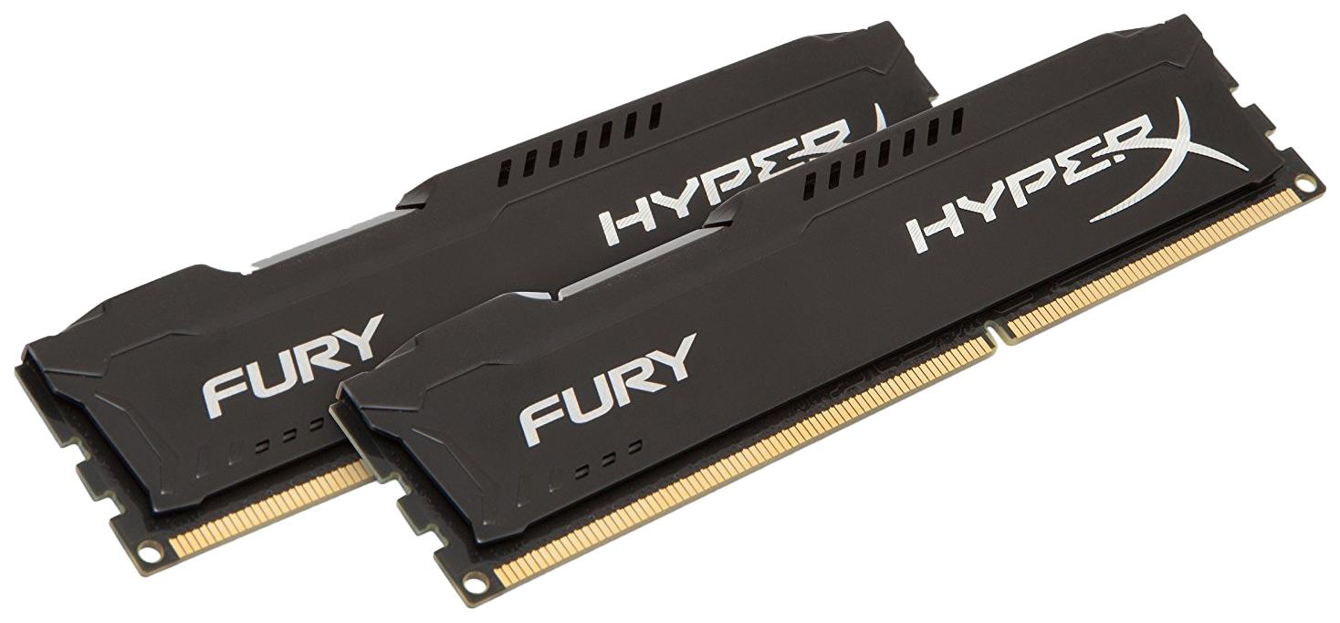 Оперативная память HyperX FURY HX313C9FBK2/16