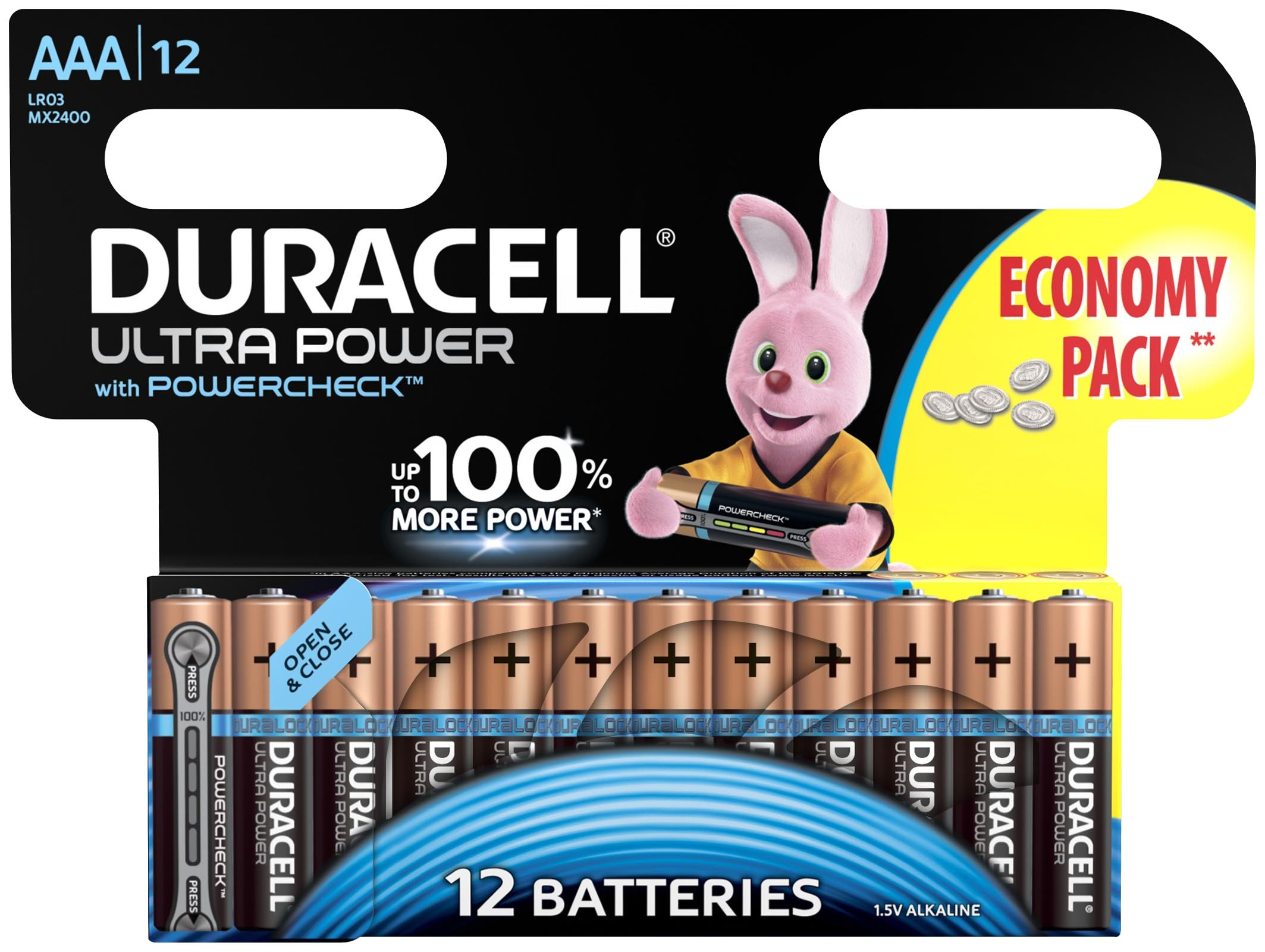 DURACELL DR LR03/12BL UL PW
