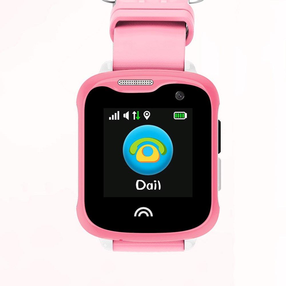 Детские смарт-часы Smart Baby Watch D7 Pink/Pink