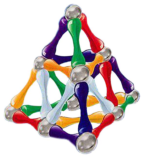 Магнитный конструктор WITKA 24 палочек и 12 шариков 00333F фото