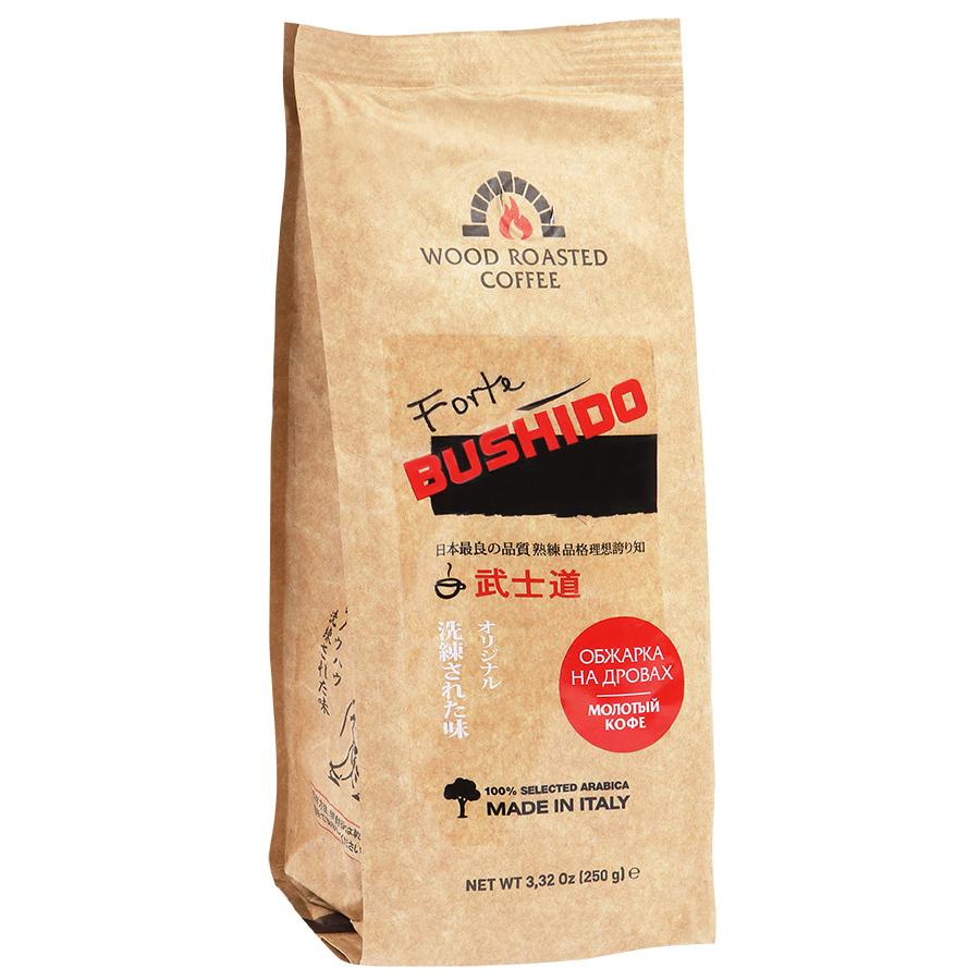 Молотый кофе Bushido forte 250 г фото