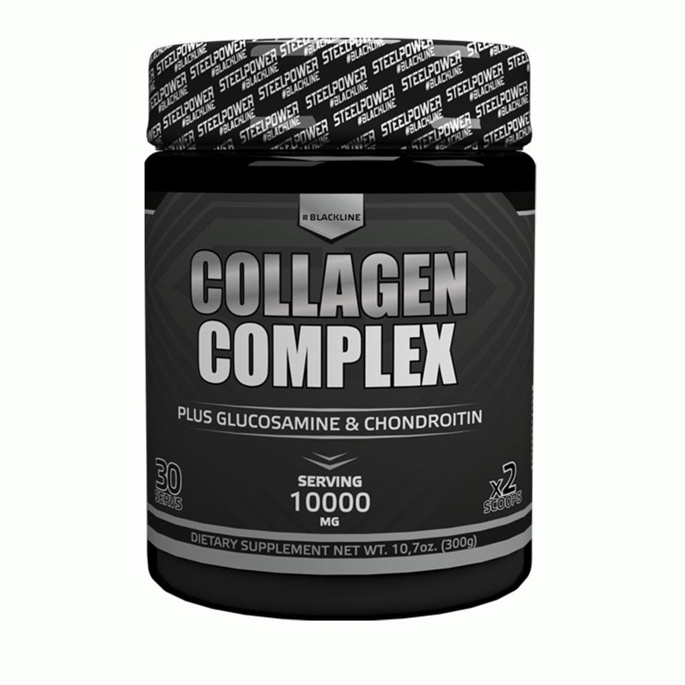 Комплексное средство Steel Power Nutrition Collagen Complex 300 г апельсин фото