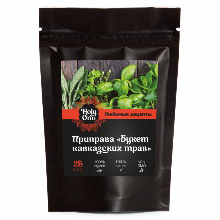 Приправа Holy Om  букет  кавказских трав любимые рецепты 25 г
