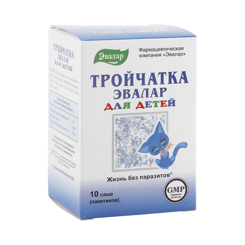 Тройчатка Эвалар для детей саше 3,6 г 10 шт.