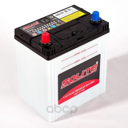 Аккумулятор автомобильный Solite 44B19R 44А/ч 350А полярность прямая фото