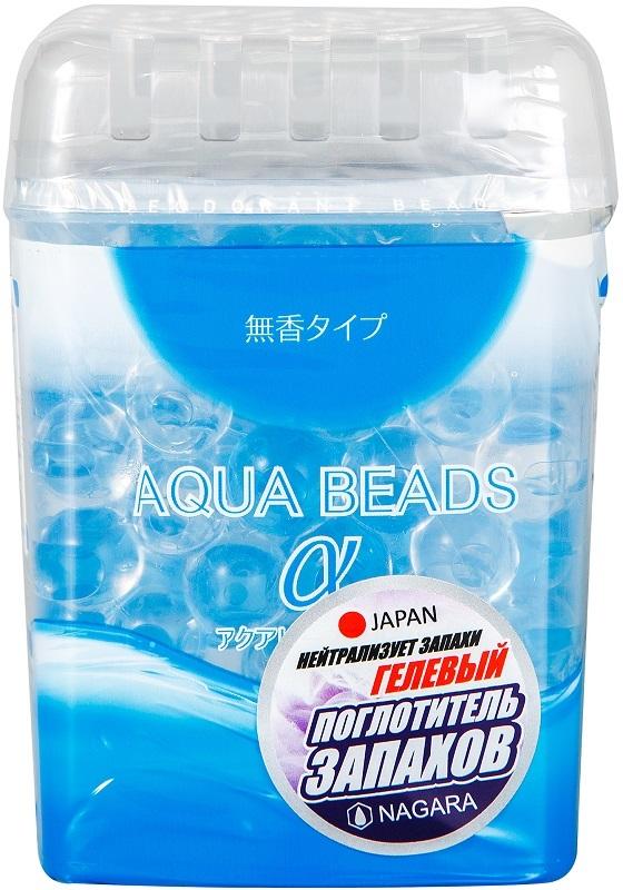 Поглотитель запаха Nagara aqua beads гелевый 360 г фото